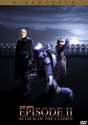 Star Wars: Episode II - Attack of the Clones Dvd cover