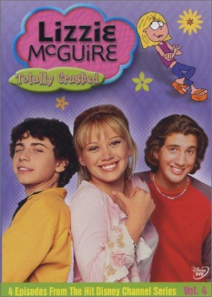 Lizzie McGuire: Totally Crushed Vol. 4 Cover