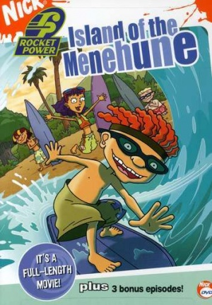 Rocket Power: Island of the Menehune Cover