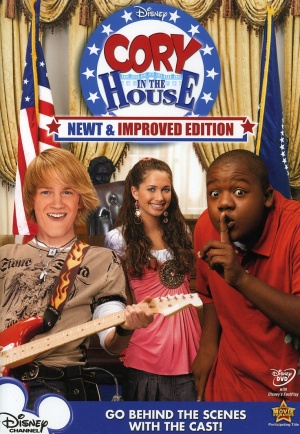 Cory in the House: Newt & Improved Edition Cover