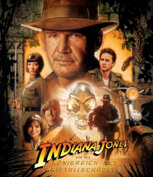 Indiana Jones and the Kingdom of the Crystal Skull Blu-ray cover
