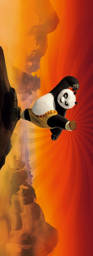 Kung Fu Panda 1825x5000