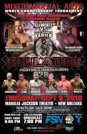 Bellator Fighting Championships 3261x5000