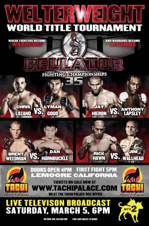 Bellator Fighting Championships 3286x5000