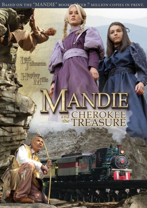 Mandie and the Cherokee Treasure 562x795