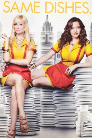 2 Broke Girls 841x1257