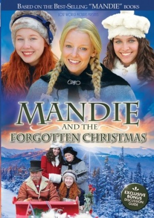 Mandie and the Forgotten Christmas 353x500
