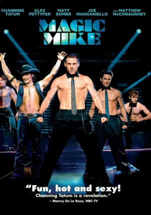 Magic Mike Dvd cover