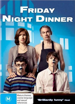 Friday Night Dinner Dvd cover