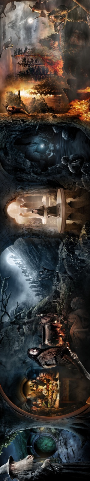 The Hobbit: An Unexpected Journey Key art