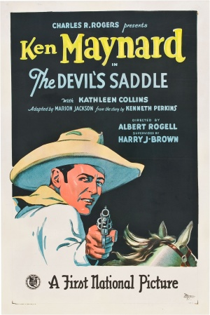 The Devil's Saddle Poster