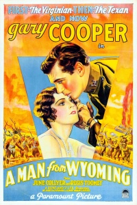 A Man from Wyoming poster