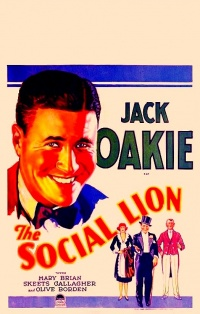 The Social Lion poster