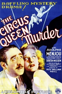 The Circus Queen Murder poster