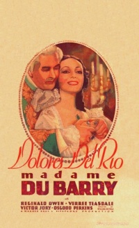 Madame Du Barry poster