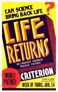 Life Returns poster