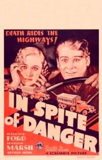 In Spite of Danger poster