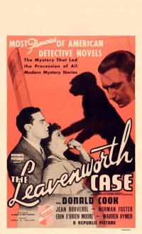 The Leavenworth Case poster