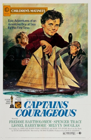 Captains Courageous Re-release poster