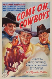 Come on, Cowboys poster