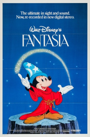 Fantasia Re-release poster
