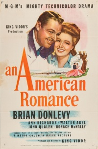 An American Romance poster
