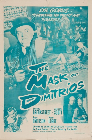 The Mask of Dimitrios Re-release poster