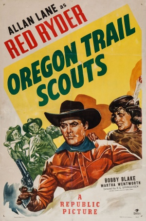 Oregon Trail Scouts Poster