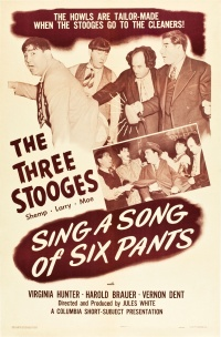 Sing a Song of Six Pants poster
