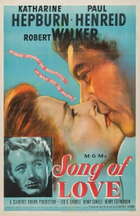 Song of Love poster
