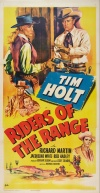 Riders of the Range Poster