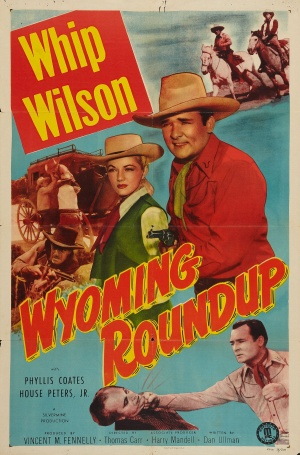 Wyoming Roundup Poster