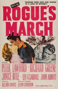 Rogue's March poster