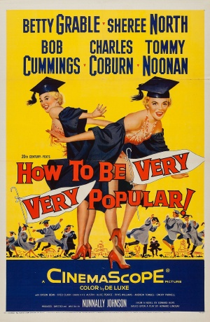 How to Be Very, Very Popular Poster
