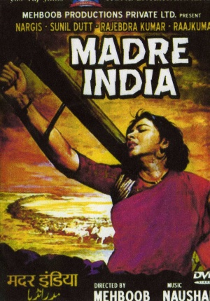 Mother India Dvd cover