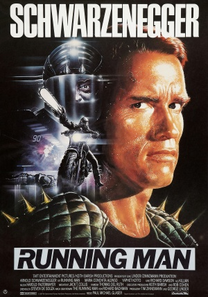 The Running Man Theatrical poster