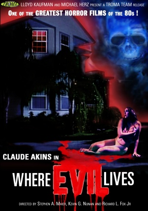 Where Evil Lives Dvd cover