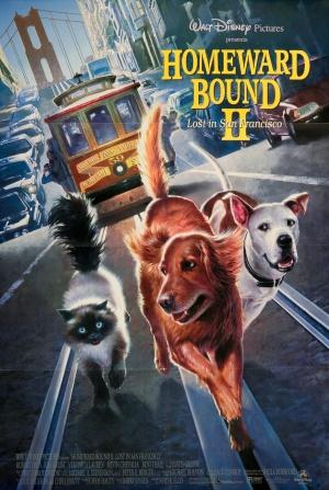 Homeward Bound II: Lost in San Francisco 1436x2138