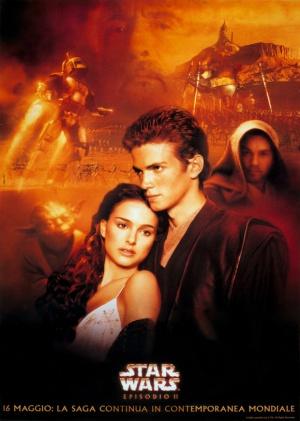 Star Wars: Episodio II - El ataque de los clones 580x813