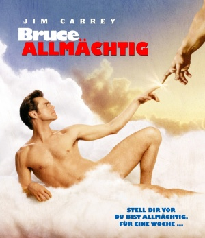 Bruce Almighty Blu-ray cover