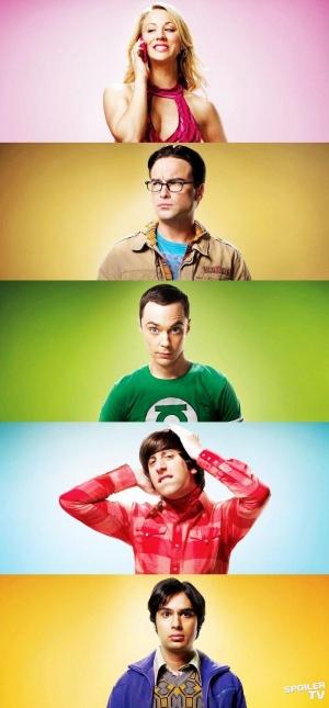 The Big Bang Theory 700x1505
