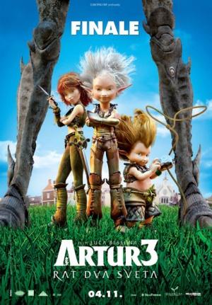 Arthur und die Minimoys 3 - Die große Entscheidung 418x600