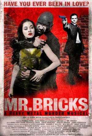 Mr. Bricks: A Heavy Metal Murder Musical Poster