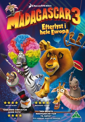 Madagascar 3: Europe's Most Wanted 1530x2175