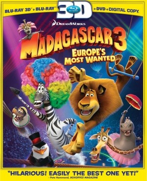 Madagascar 3: Europe's Most Wanted 2926x3600