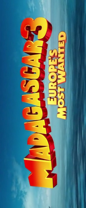 Madagascar 3: Europe's Most Wanted 750x1800
