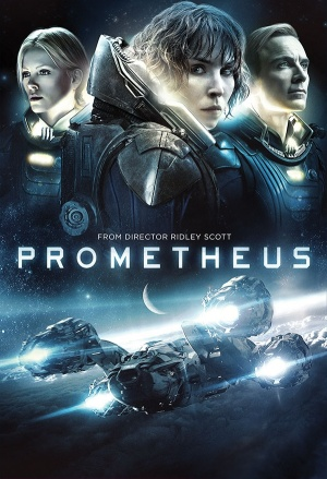 Prometheus Dvd cover