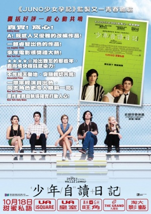 The Perks of Being a Wallflower 724x1024