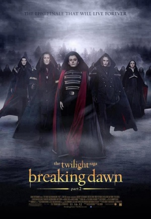 The Twilight Saga: Breaking Dawn - Part 2 600x865