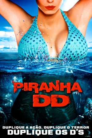 Piranha 3DD Dvd cover